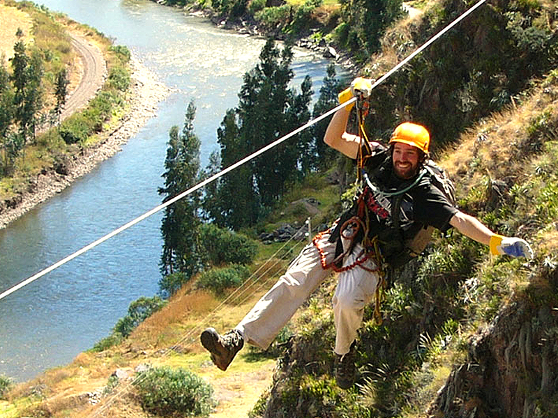 Rafting + Zipline Full Day Adrenaline Cusco